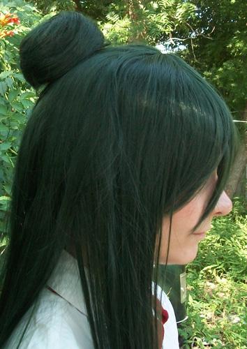 Sailor Pluto bun clip side view