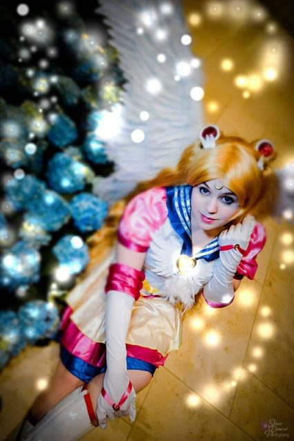 Sailor Moon cosplay, photograph by Sakura Diamond Photography
