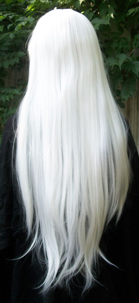 Inuyasha wig back view