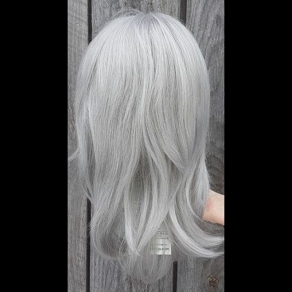 Shadowed Hero cosplay wig back view
