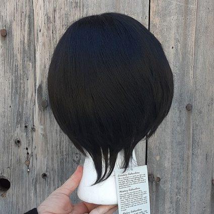 Smoldering Antihero cosplay wig back view