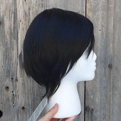 Smoldering Antihero cosplay wig side view