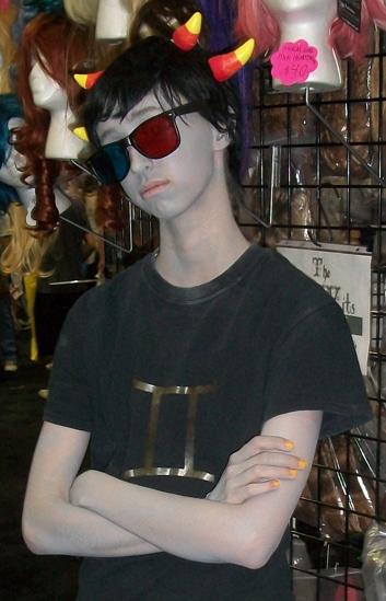 Sollux cosplay wig