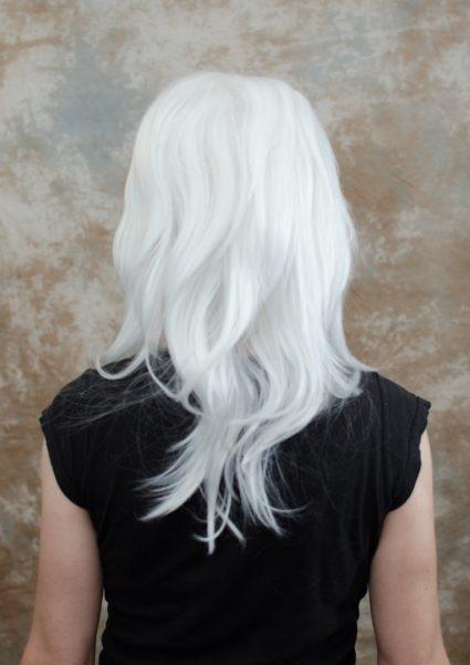 Bakura cosplay wig back view