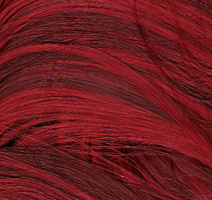 Blood red color swatch