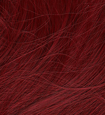 Deep red color swatch