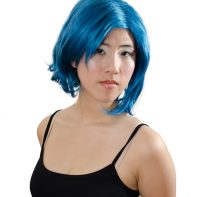 Sailor Mercury cosplay wig