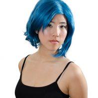 Sailor Mercury cosplay wig