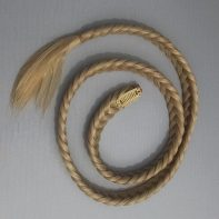 "braid clip in ""mallorn blond"""