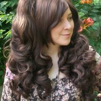 Gothic Lolipocalypse Cafe Frangelico - brown lolita wig