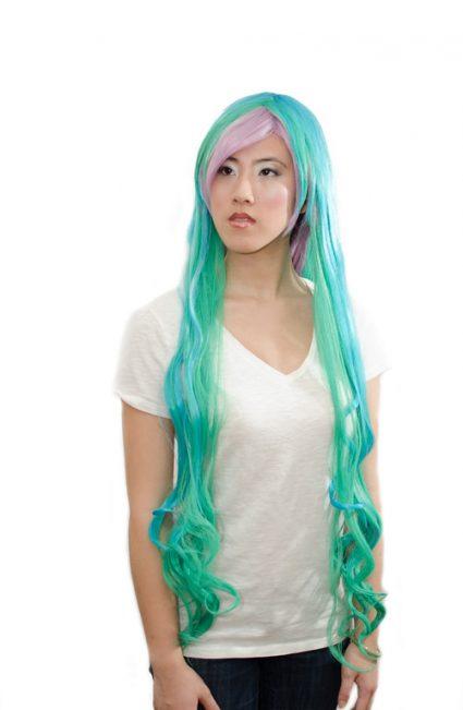 Princess Celestia cosplay wig