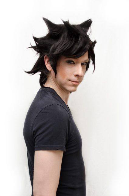 No hairspray Gamzee cosplay wig