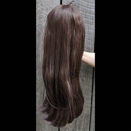 d.Va cosplay wig back view