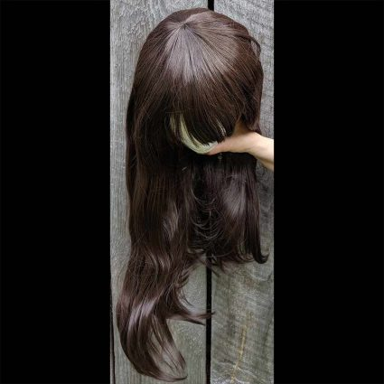 d.Va cosplay wig top view