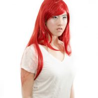 Erza cosplay wig