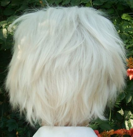 Mytho cosplay wig back view