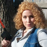 River Song cosplay wig