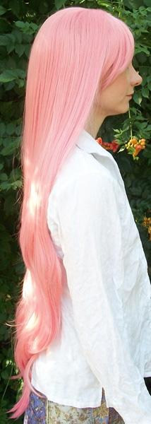 Ultimate Madoka base wig side view