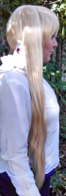 Neru Akita wig side view