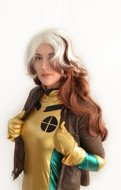 Rogue cosplay wig