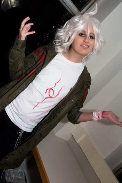 Komaeda customer cosplay by Naeemer Cosplay