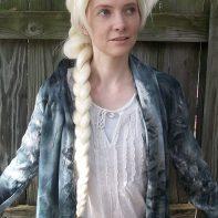 Elsa cosplay wig