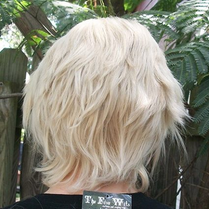 Kanji wig back view