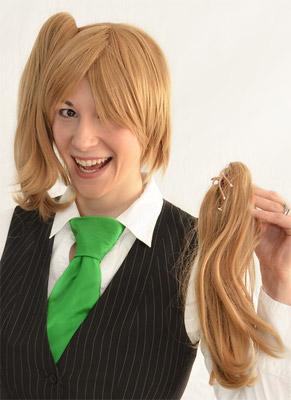 Byakuya Togami cosplay wig