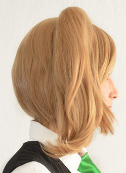 Silica cosplay wig side view