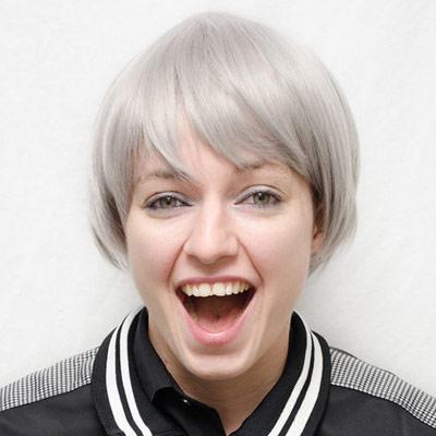 Nitori cosplay wig