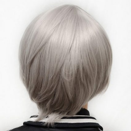 Nitori cosplay wig back view