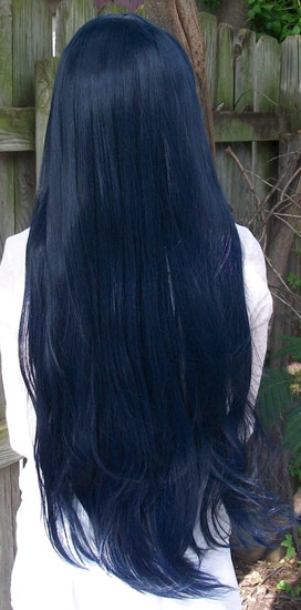 Satsuki Kiryuin cosplay wig back view