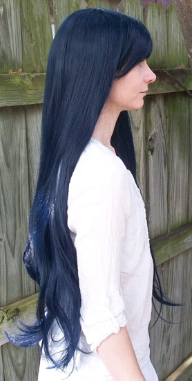 Lucina cosplay wig side view