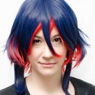 Ryuko Senketsu cosplay wig