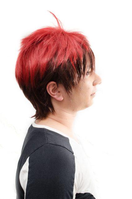 Taiga Kagami cosplay wig side view