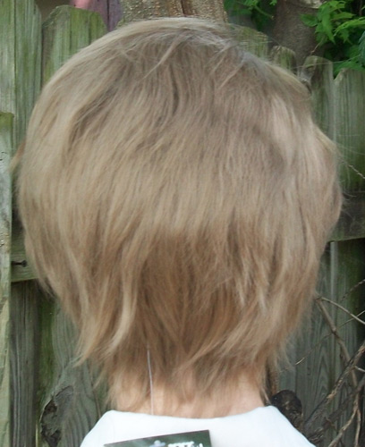 Tiz cosplay wig back view