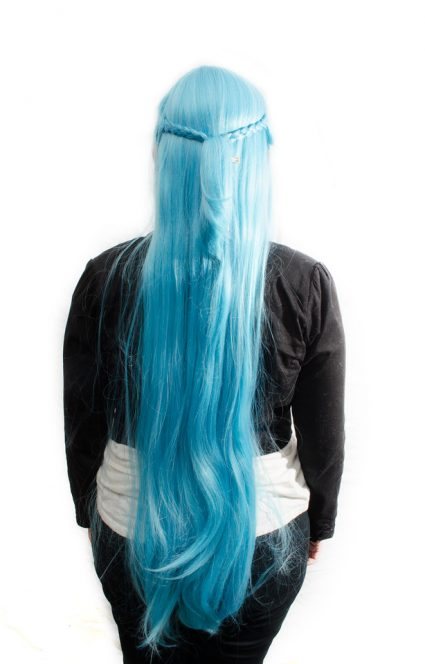 Undine Asuna cosplay wig back view