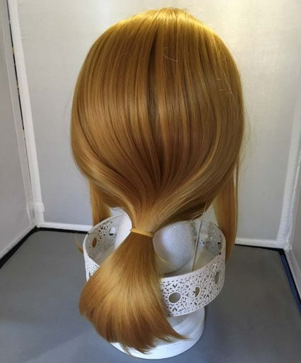 Link wig back view
