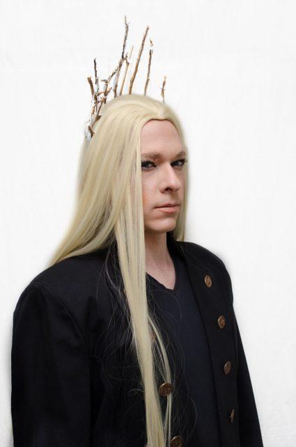 Thranduil cosplay wig