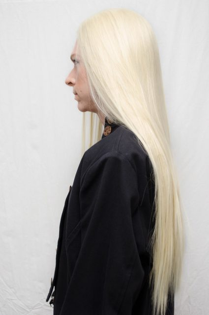 Thranduil cosplay wig side view