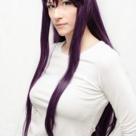Sailor Mars cosplay wig