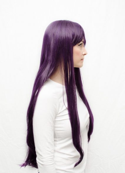 Rei Hino cosplay wig