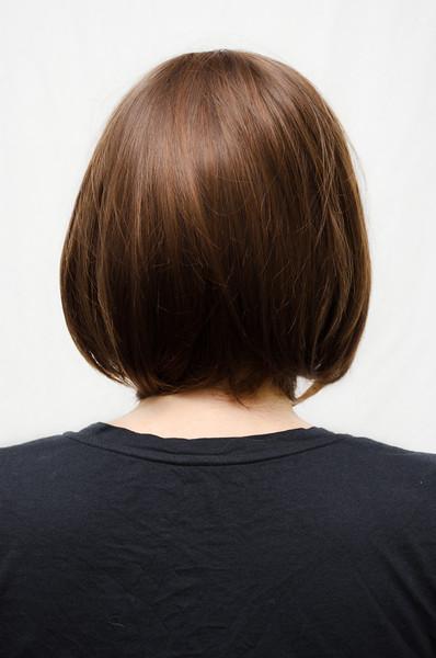 Elizabeth cosplay wig back view