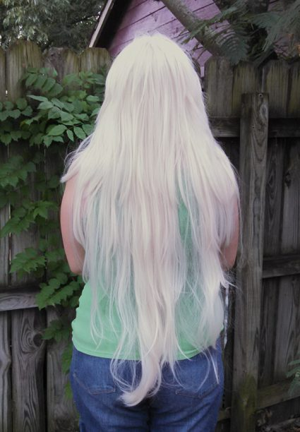 Jasper cosplay wig back view