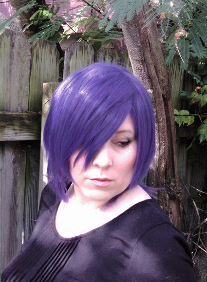 Lucifer cosplay wig