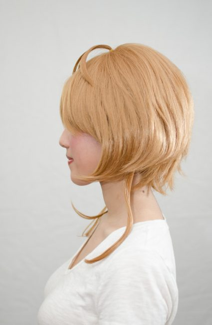 Sakura wig side view