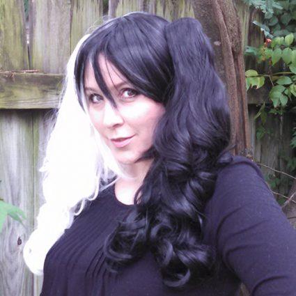 Monokuma cosplay wig