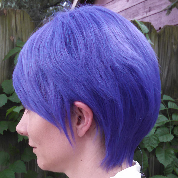 Mm Purple People Eater Tsukiyama Cosplay Wig The Five Wits