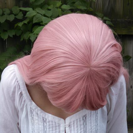 Utena wig top view
