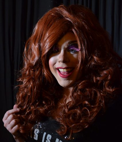 Whiskey Tango as a drag wig 2